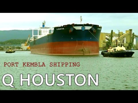 Q HOUSTON (Capesize Bulk Carrier) Port Kembla Departure