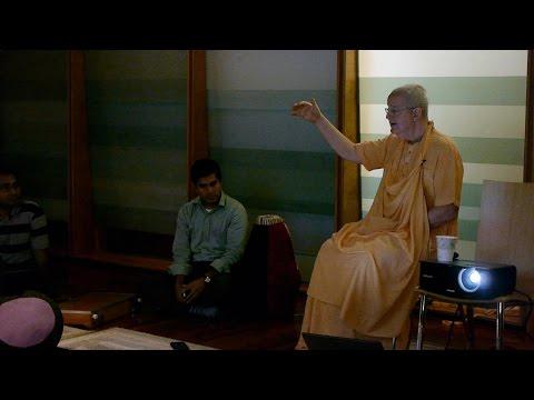 H.H. Romapada Swami - Intro to Bhagavad Gita, North Eastern University, Boston MA