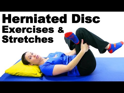 Herniated Disc Exercises & Stretches Ask Doctor Jo
