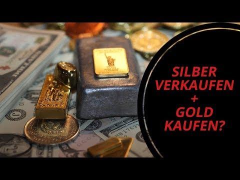 Silber verkaufen + Gold kaufen?