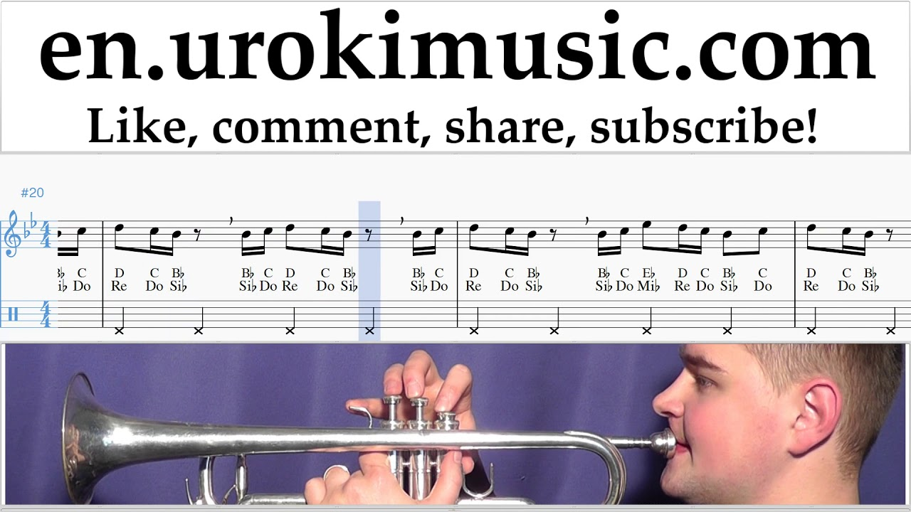 How to Play Trumpet Drake - In My Feelings Kiki Do you love me Tabs um-ih352