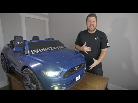 ML Toys Headlight and Fog Light Install - Mustang Smart Drive Power Wheels Modifications