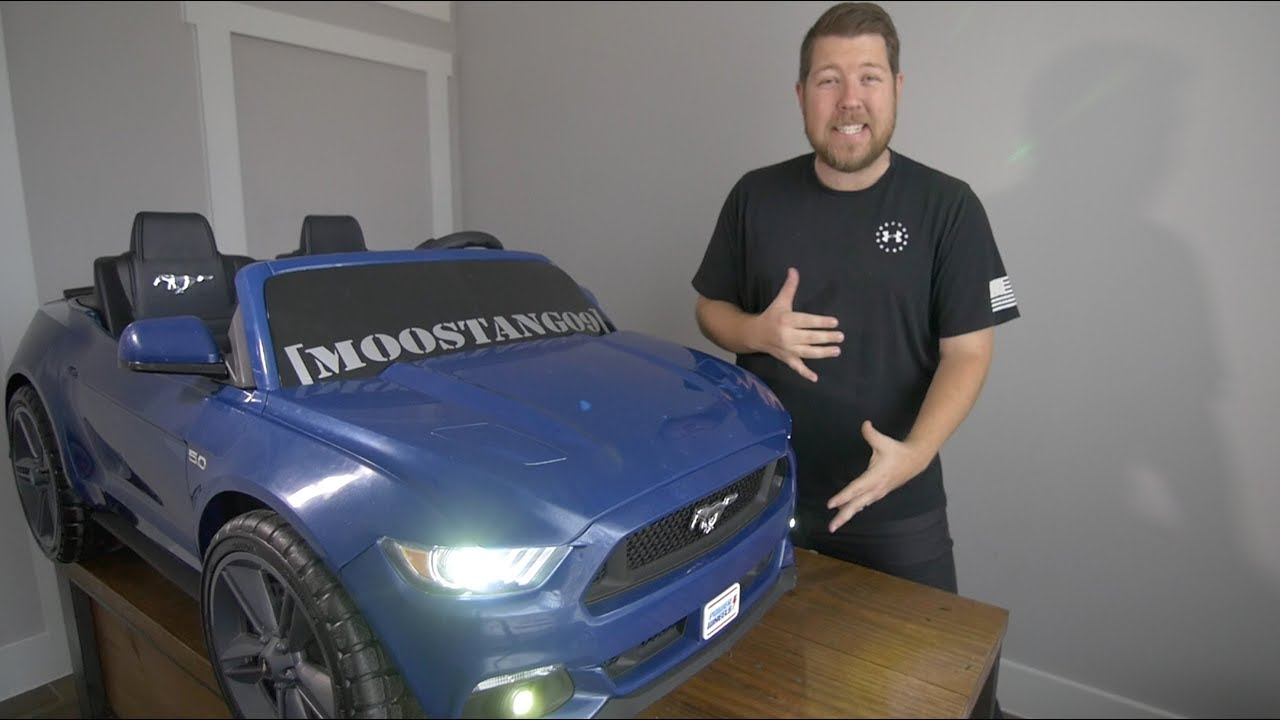 hight resolution of ml toys headlight and fog light install mustang smart drive power wheels modifications
