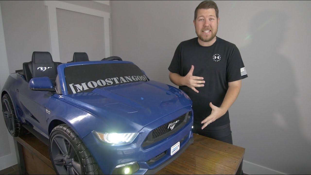 medium resolution of ml toys headlight and fog light install mustang smart drive power wheels modifications