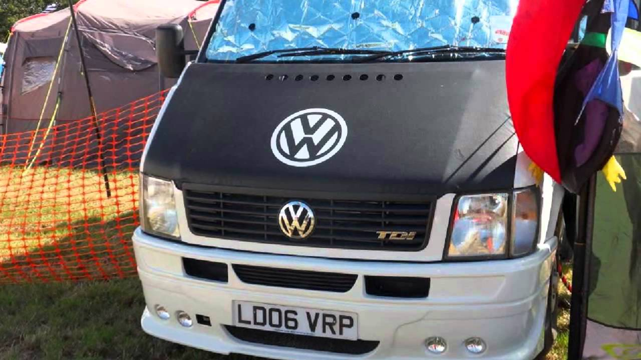 vw lt35 bonnet bra , van-x - youtube
