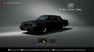 Gran Turismo 4 - Buick Car List HD PS2 Gameplay
