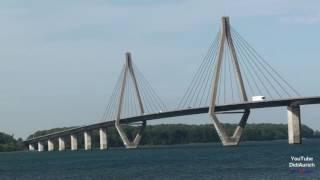 Dänemark Farøbroerne Brücke Farø Insel Falster Storstrøm Storstrømmen Kalvestrøm Seeland Falster