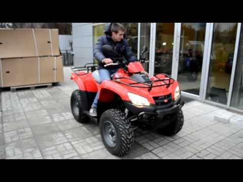 Видео обзор квадроцикла KYMCO MXU 400 от АртМото