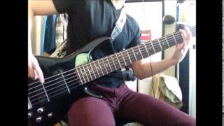 Mudvayne Internal Primates Forever bass cover