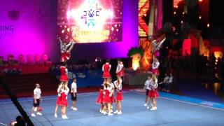 CHAMPION - TEAM JAPAN (All Female) - Day 1 & 2 | 7th Cheerleading World Championship