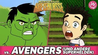 Monsters of Kreisklasse: Avengers und andere Superhelden vs. Borussia Hodenhagen