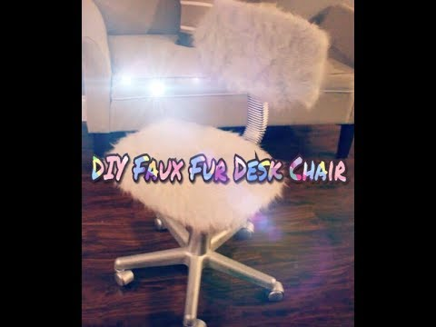 Faux Fur Desk Chair DIY - YouTube Fur Office Chair on desk chair, fur chair for teen room, justice zebra chair, fur chair covers, fur sewing machine, fur butterfly chair, faux fur chair, fur phone chair, fur saucer chair, fuzzy chair, fur leather, fur stool, extra large chair, fur bed, man in chair, fur chairs for tween girls, fur travel chair, fur couch, fur computer chair, fur lounge chair,