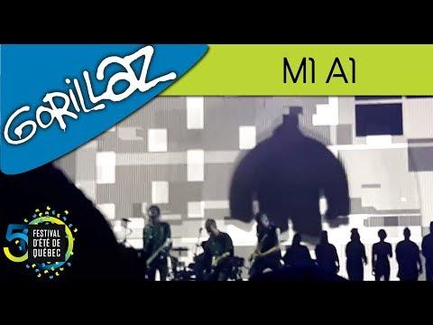 Gorillaz - M1 A1 | Live; Festival d'été de Québec (15-07-2017)