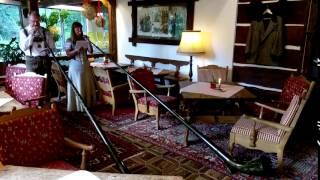 Alphornbläser im Hotel Trattlerhof