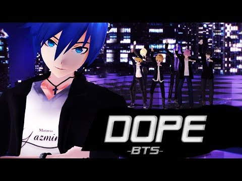 【Vocaloid Boys】DOPE/SICK (쩔어)【BTS (방탄소년단)】【MMD】+ Download