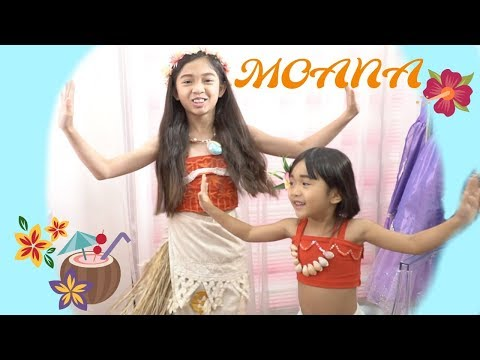 MOANA MAKEOVER with Kaycee & Rachel