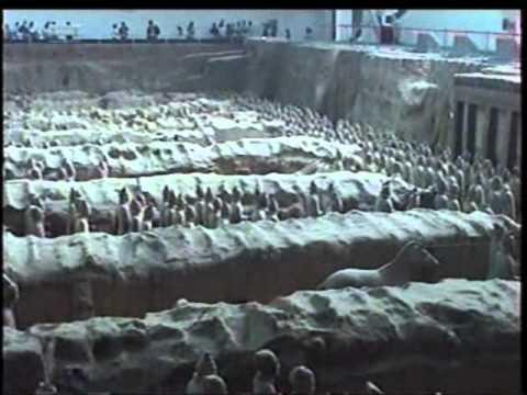 Excavaciones de los Guerreros de Terracota en Xian - Terracota Warriors at Xian