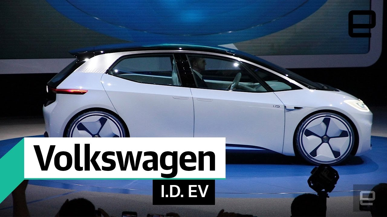 Volkswagen I D Electric Concept Car First Look