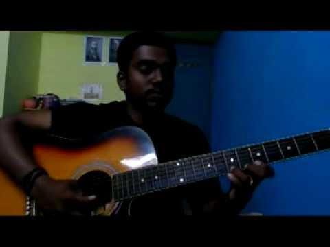 Yaar Indha Saalai Oram Pookal-Thalaiva in Guitar by Jayaraj VS...