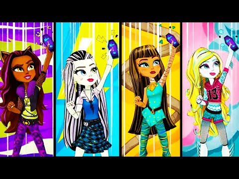 Monster High | Too Much Scream Time | Adventures of the Ghoul Squad | Episode 7 | Cartoon Movie