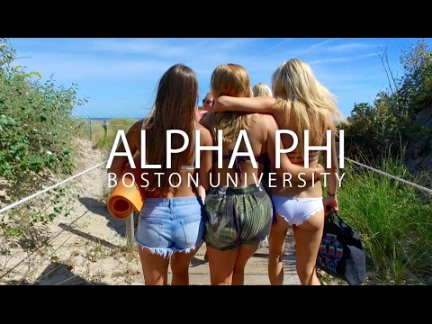 Alpha Phi Boston University Recruitment 2017