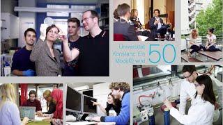 Eine kurze Geschichte der Universität Konstanz – 1966 bis 2016
