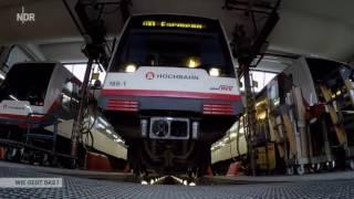 Auf Schienen durch die Großstadt   Die U Bahn von Hamburg   Doku 2017 NEU in HD