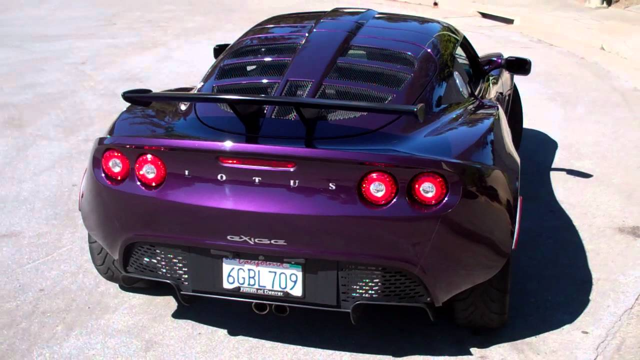 Lotus Exige Youtube