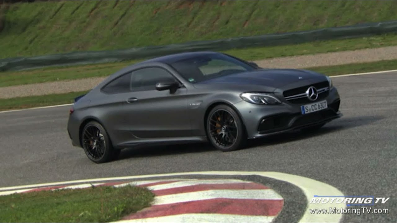review: 2017 mercedes-amg c 63 s coupe - youtube