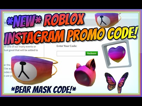 Bear Mask New Roblox Promo Code Bear Mask Instagram Roblox