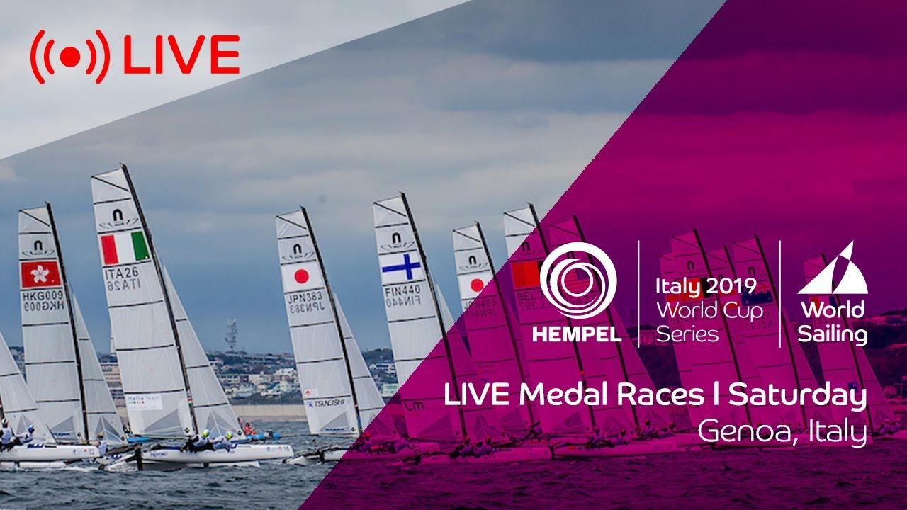 LIVE | Medal Races | Hempel World Cup Series Genoa 2019
