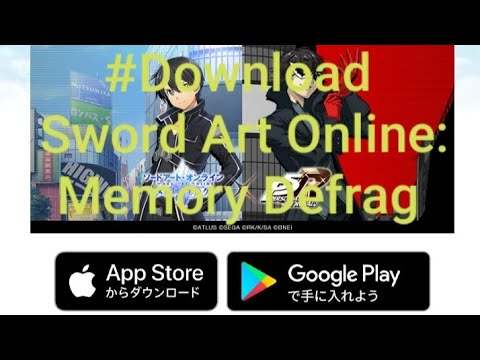sword art online memory defrag hack diamond - Hướng dẫn tải Sword Art Online: Memory Defrag trên CH Play( How to download SAO:MD on CH Play)