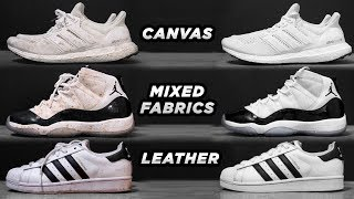 HOW TO CLEAN EVERY TYPE OF SNEAKER | My Process