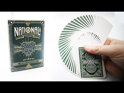 Deck Review -  National Green Playing Cards Theory11 [HD]