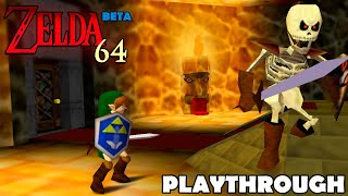 BETA Zelda 64 Ganon's Castle Playthrough