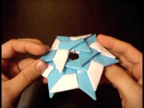 How To Make The Super Ninja Star 6 Pointed Shuriken