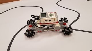 Lego Mindstorms EV3 Omnidirectional Omni Wheels made from authentic Lego pieces