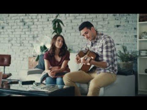 Romantic Acoustic Chord Progression (James Blunt You're Beautiful  Beautiful) Beginner guitar song