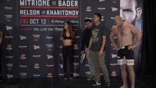 Bellator 207 LIVE Weigh Ins Video and Results
