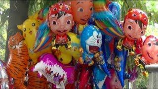 Deen Assalam Versi BALONKU ADA LIMA - Mainan Balon Terbang, Balon Karakter