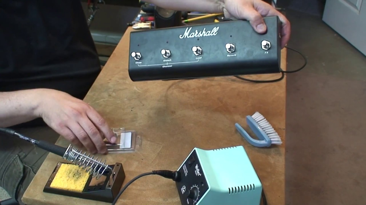 Marshall TSL Footswitch: Switch Repair/Replacement on