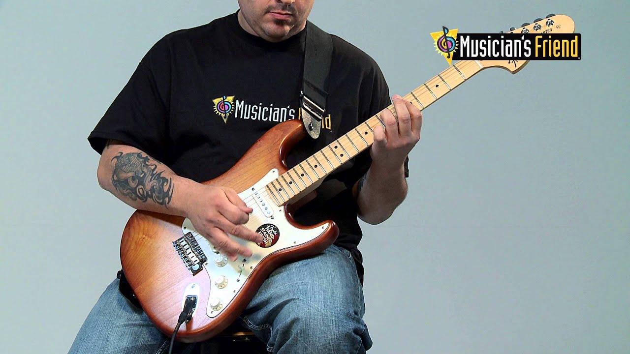 Fender Usa Nitro Satin Series Stratocaster Youtube