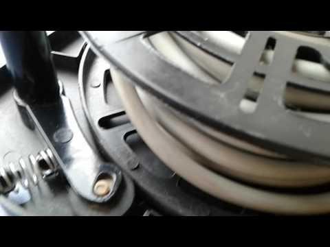 Ремонт пылесоса. Не фиксируется провод. Vacuum cleaner repair. No wire is fixed