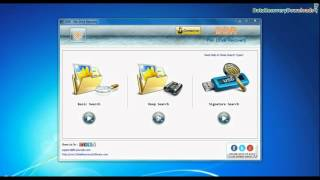 Toshiba USB flash drive recovery using Pen Drive Recovery Software
