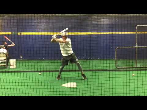2018 Catcher - Dylan Judd, Oceanside, NY Cage Work
