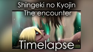 Shingeki no Kyojin  - The encounter timelapse (SPOILER)