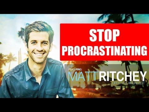 How To Stop Procrastinating... NOW!