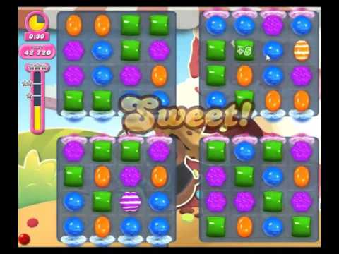 Candy Crush Saga Level 1644 - NO BOOSTERS
