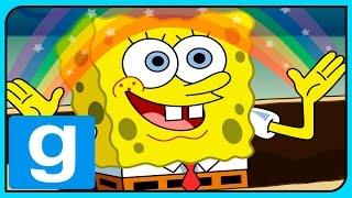 Gmod Deathrun ГУБКА БОБ КАРТА в Garry s Mod Spongebob
