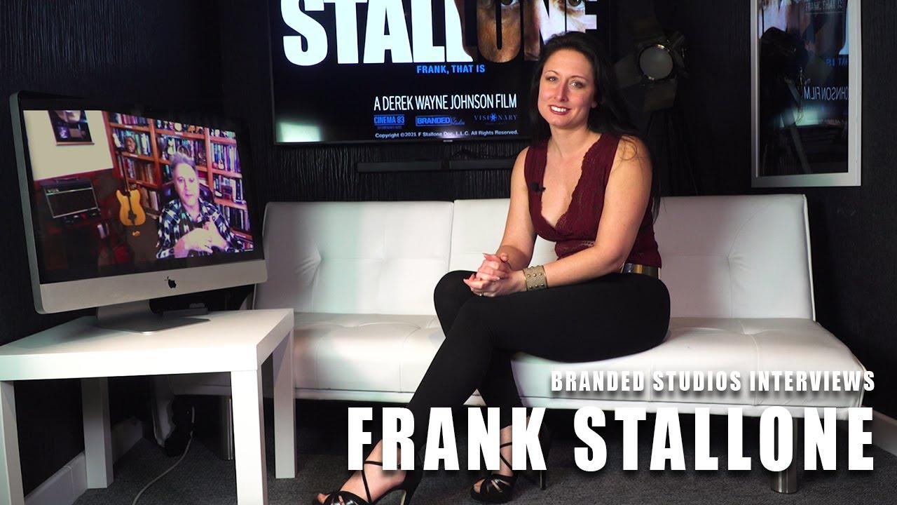 Charlotte Fantelli from Branded interviews Frank Stallone
